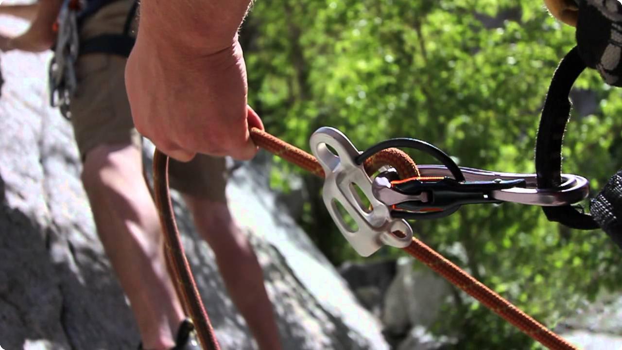 ビレイデバイス&ディッセンダー - 鹿児島登山サークル