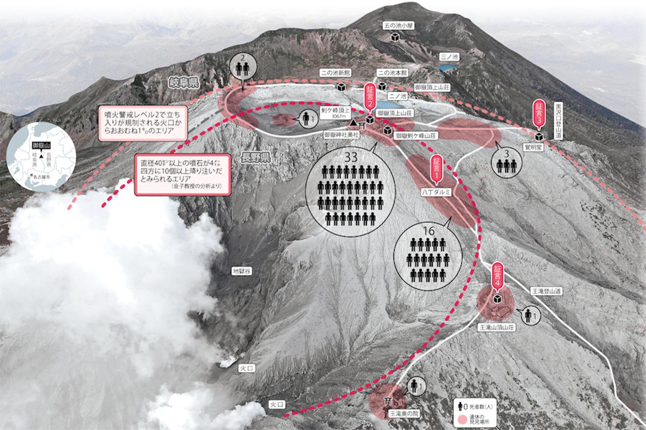 御嶽山 NHK噴火の証言 - 鹿児島登山サークル