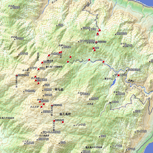 登山でGPS活用 ウェイポイント - 鹿児島登山サークル