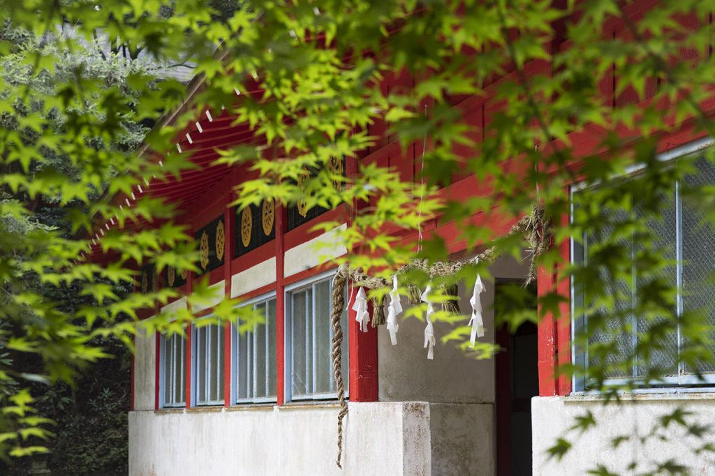 市房山登山 熊本市房神社
