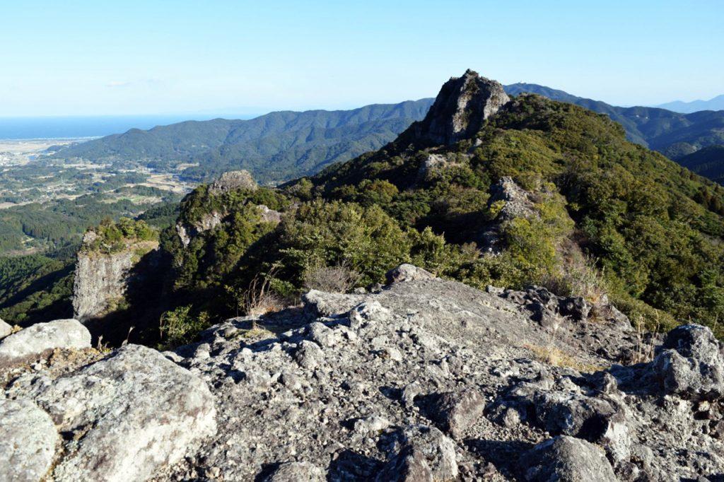 磯間嶽登山 岩稜コース~大浦登山口 Vol.2