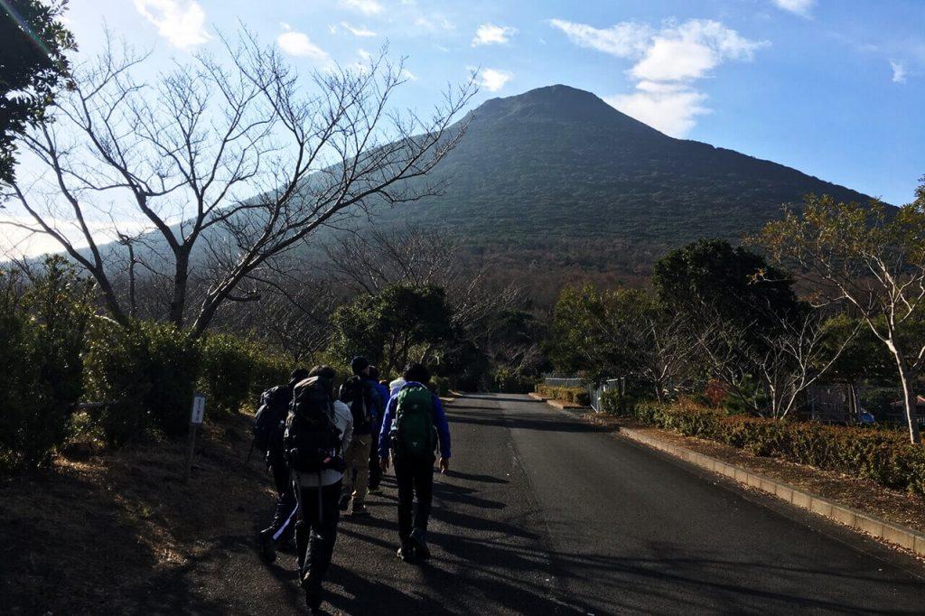 開聞岳登山 2往復☆8時間目標