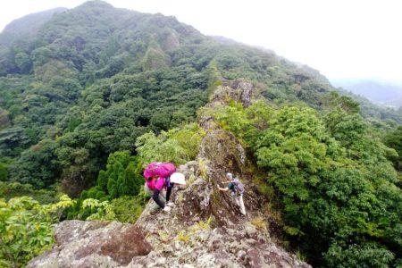 冠嶽神社 仙人岩ナイフリッジ