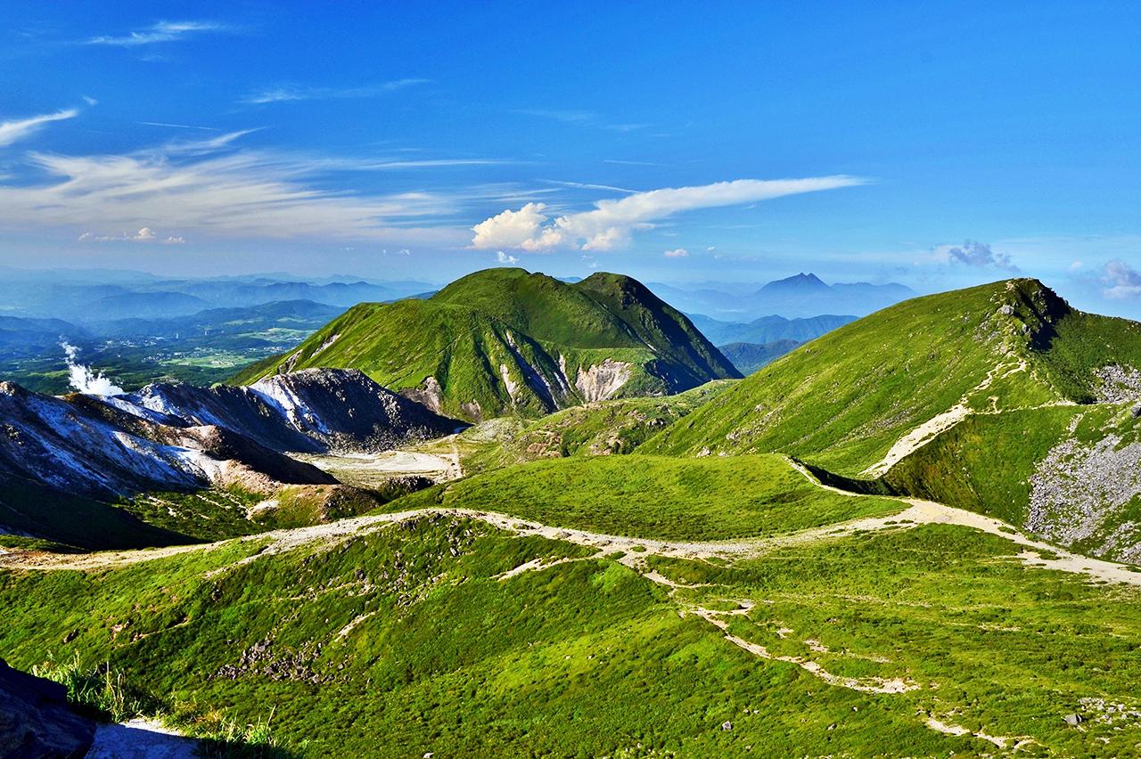 九重坊ガツル テント1泊登山