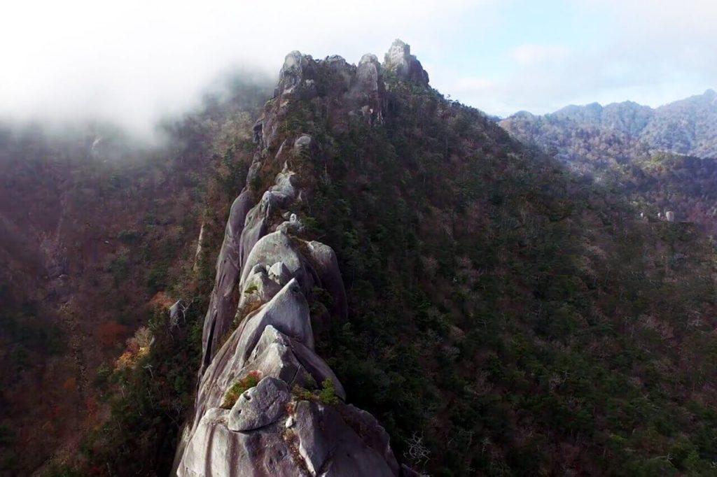 大崩山登山 鹿児島からだと1泊ですね