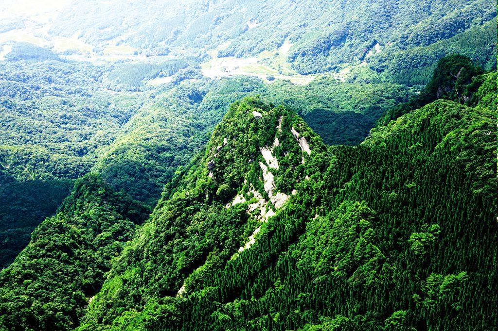 刀剣山登山 猿ヶ城登山口~ロープワーク
