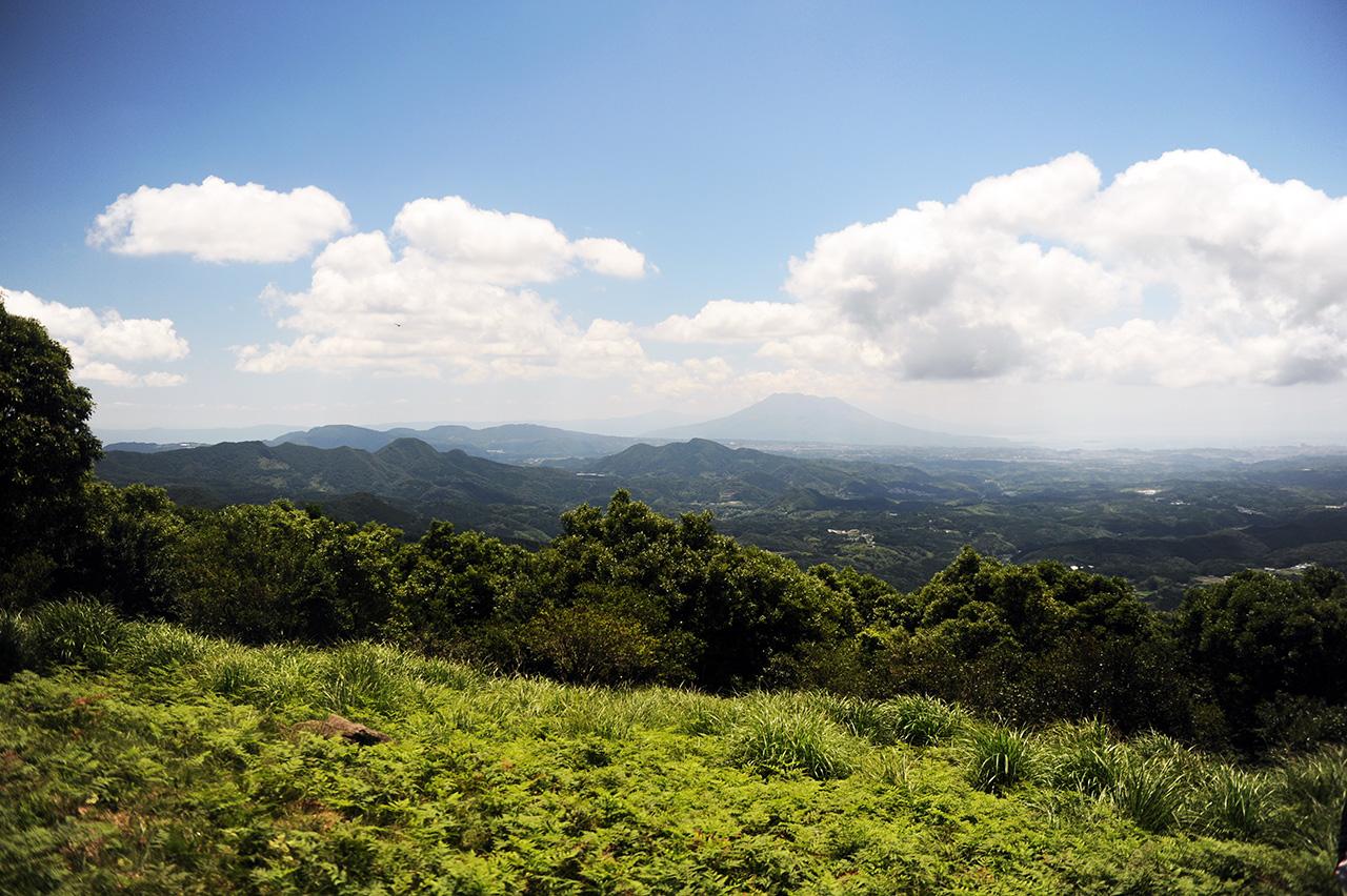 八重山登山 甲突川の源流がある里山